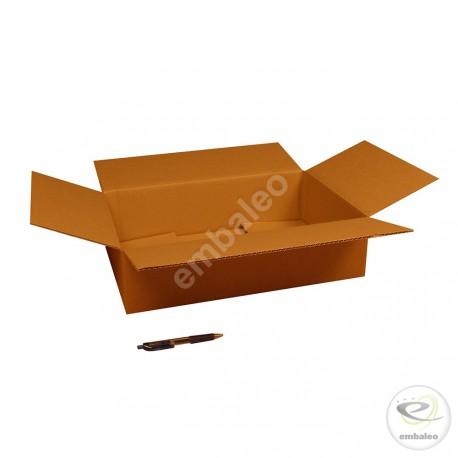 Scatola di cartone un'onda 45x30x11,5 cm
