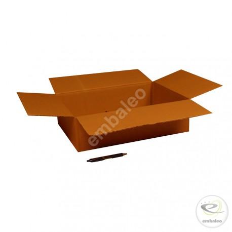Scatola di cartone un'onda 45x32x12 cm