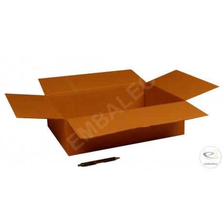 Scatola di cartone un'onda 45x32x30 cm