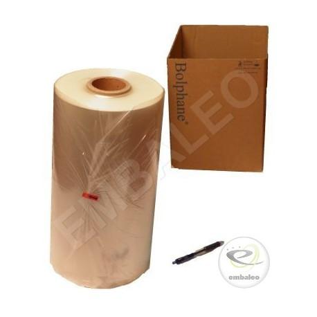 Film retraibile in poliolefine 19 µ piegato 300x2 LG 1.070 ml