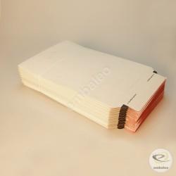 Busta di cartone bianca A4 23,5 x 34 cm