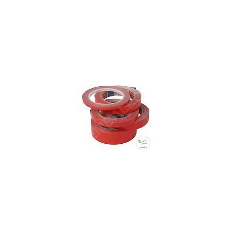 Nastro adesivo PVC rosso 19/66 ml