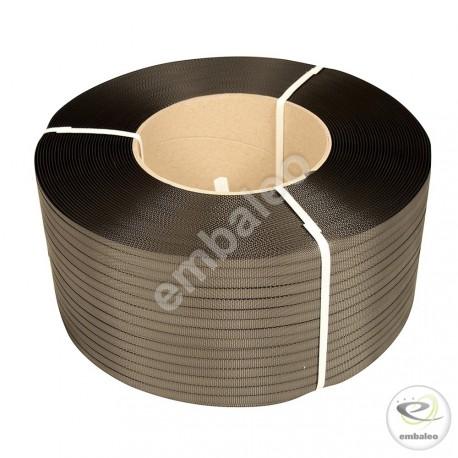 Feuillard polypropylène 12x0,75x1600 noir