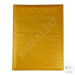 Busta con bolle d'aria marrone H Mail Lite Gold 27x36 cm