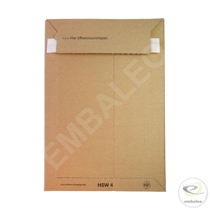 413ac732f0 Buste di cartone: imballaggio e spedizione facili con Embaleo - Embaleo