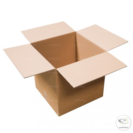 Carton double cannelure 45x45x45 cm
