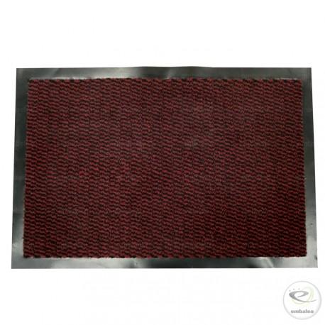 Tapis Antipoussière 60x90 cm - Paillasson Bordeaux