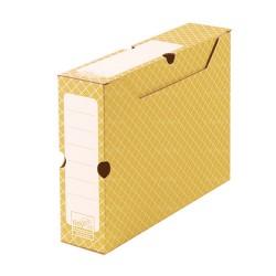 Scatola per archivio arancione 32,2 x 9,5 x 24,9 cm