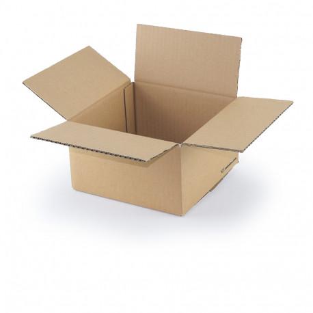 Carton simple cannelure 20x20x11 cm
