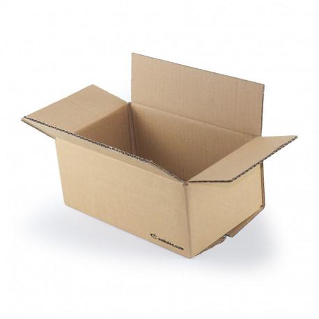 Carton simple cannelure 25x15x10 cm