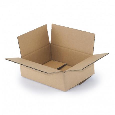 Carton simple cannelure 20x15x6 cm