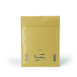 Busta con bolle d'aria marrone C Mail Lite Gold 15x21 cm