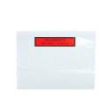 """Buste trasparenti adesive con dicitura """"documenti allegati"""""""