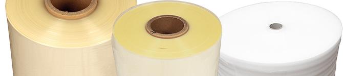 film per imballaggio: estensibile, a bolle d'aria, termoretraibile, kraft